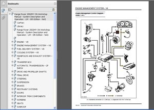 Lr3 Land Rover Discovery 3 Factory Service Repair Manual