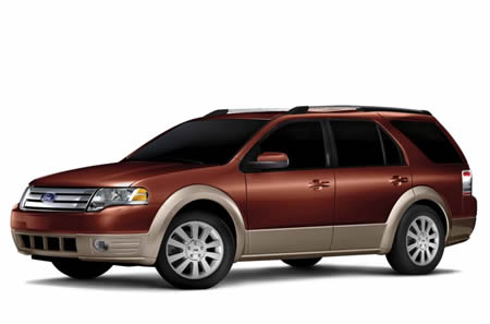 Ford Taurus X Service Repair Manual 2008-2009